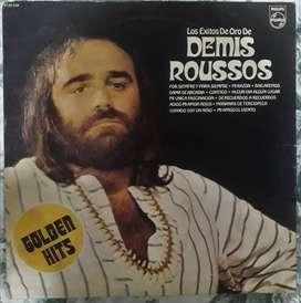 Vinilo Lp Demis Roussos - Los Éxitos De Oro 1975 Excelente