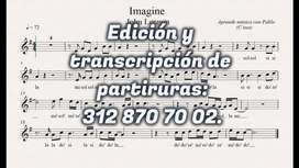 Edición Y Transcripción de Partituras