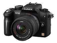 Panasonic LUMIX DMC-G10K 12.1MP Digital Camera