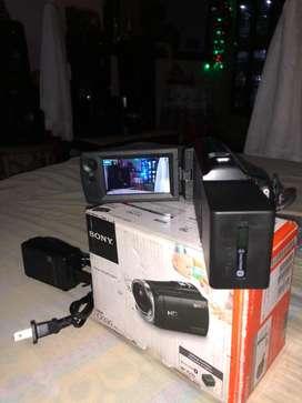 Se vende camara Sony HDR CX-330 como nueva
