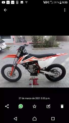 Vendo ktm de motocross sxf 450