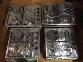 Cubiertas a gas, usadas, garantizadas, estufa, cocina,fogon