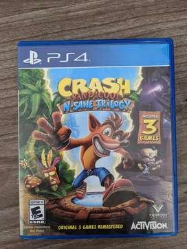Crash Bandicoot  N Sane Trilogy Juego PS4