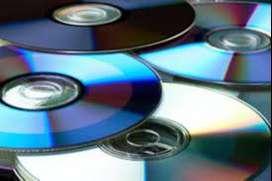 Colección de 3500 DVD's (grabados)