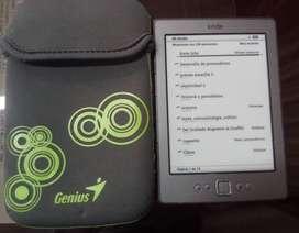 Kindle ebook, lector de libros electronicos, pantalla e-ink, no tablet