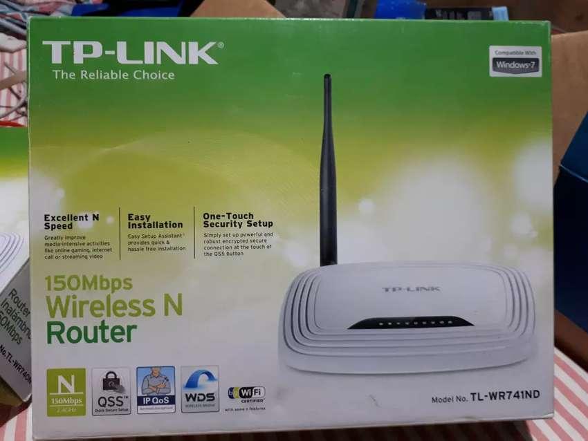 Vendo 2 Routers TP-LINK c/u $ 600. 0