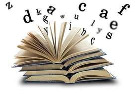 Todo en trabajo de investigación, redacción y ortografía. Proyecto y Tesis.