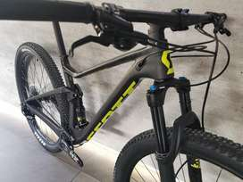 Bicicleta scott spark rc comp doble suspension carbono fox