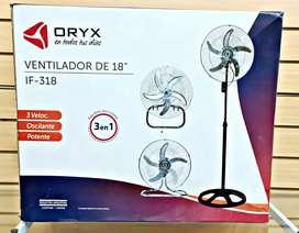 """Vendo ventilador Oryx 18"""" pulgadas"""