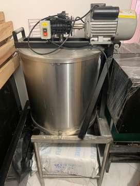 Maquina para lavar maiz