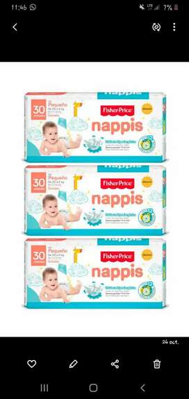 Pañales Nappis Talla Px90