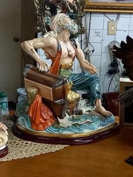 Pirata en porcelana
