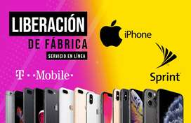 iPhone Liberación de Fabrica Sprint y T-Mobile. (FAVOR LEER DESCRIPCIÓN)