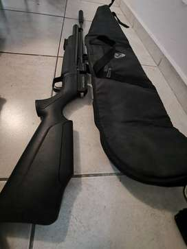 Rifle aire pcp kral puncher mega 12 tiros + inflador fox