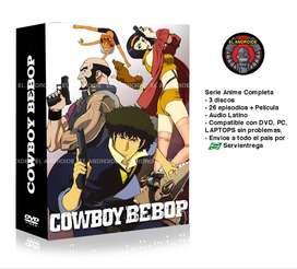 Cowboy Bebop Serie completa más película gratis