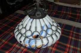 LAMPARA ARTESANAL DE TECHO