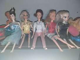 Vendo coleccion de muñecas