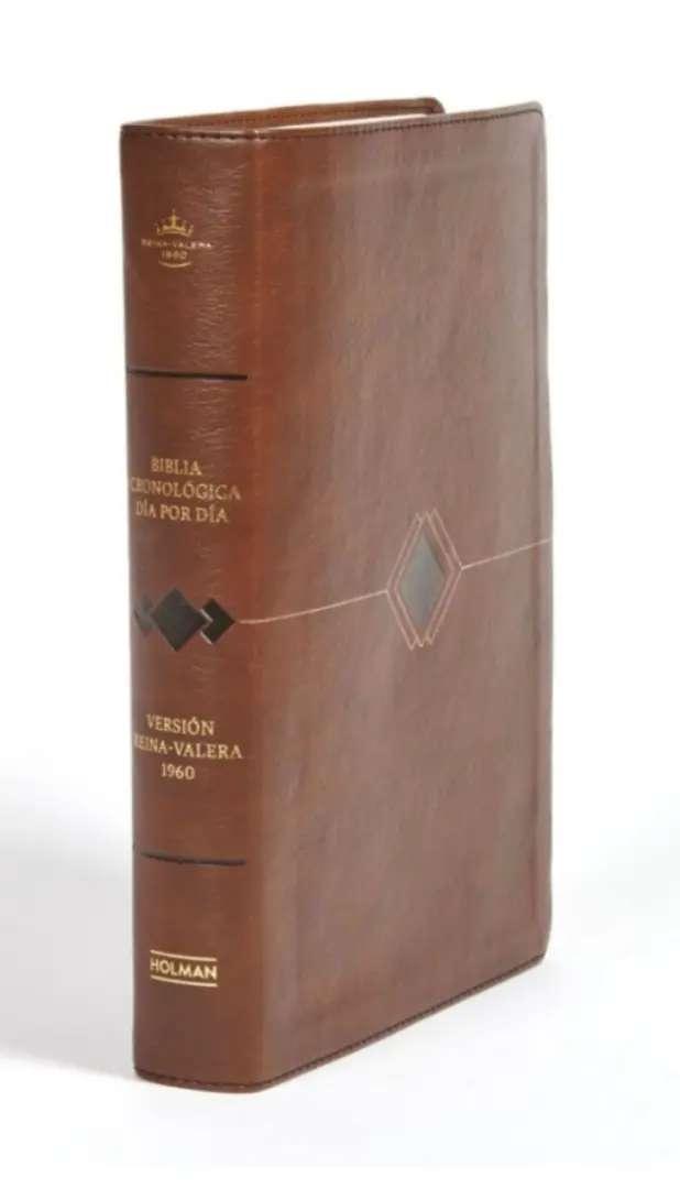 Biblia Cronologica Dia Por Dia/Marron/Simil Piel/