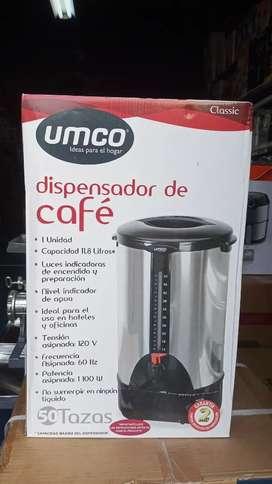 DISPENSADOR DE CAFE 50 TAZAS