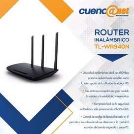 Tplink Tlwr940n 450mbps Advanced W. N Router, Ath, 2.4ghz,