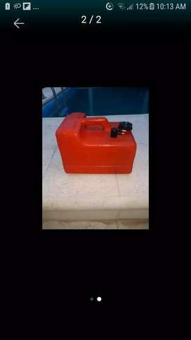 Tanque de nafta 12 litros con manguera y pera