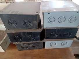 Cajas eléctricas metal.20x20x10
