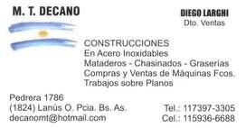 CONSTRUCCIONES EN ACERO INOXIDABLE