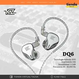 AUDIFONO KZ QD6