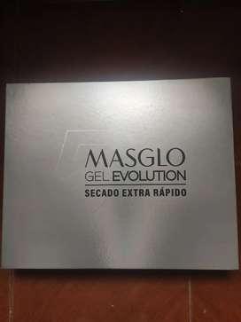 Vendo Kit de Masglo Gel Evolution