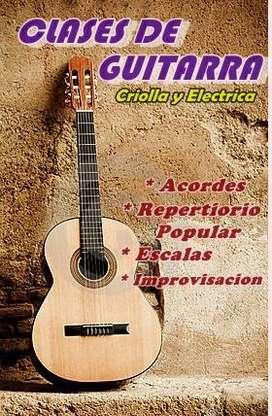 Clases de Guitarra zona sur