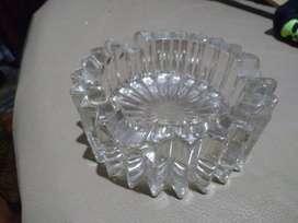 Cenicero Antiguo Cristal
