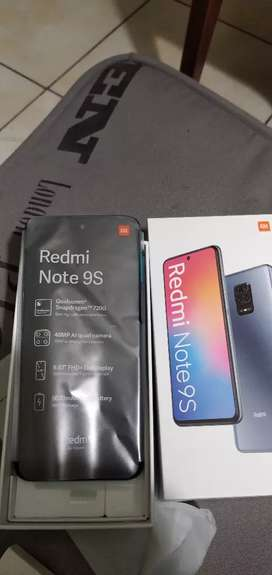 Redmi note 9s de 128g