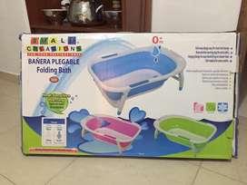 Se vende bañera plegable