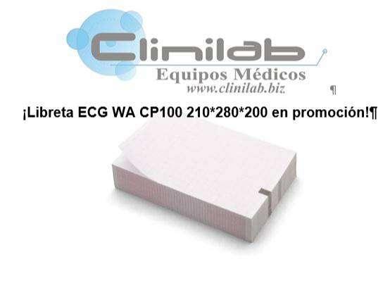 Libreta ECG WA CP-100 0