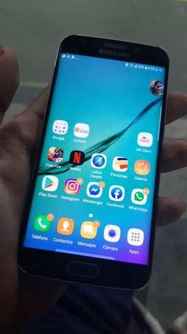 Samsung s6edge con una fisura minima