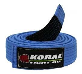 Cinturones para Jiujitsu BJJ KORAL