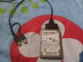 Disco duro 250Gb Negociable