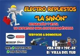 Venta y reparación de electrodomésticos