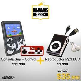 #ConsolaSup + #Control + #ReproductorMp3