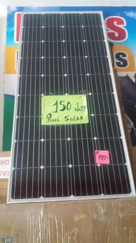 Panel Solar 150watt Monocristalino