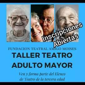 Taller de teatro Adulto Mayor