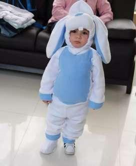 Disfraz para niño talla 2, Conejo