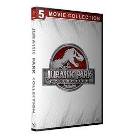 Jurassic Park Saga Completa 5 Blurays Colección Peliculas