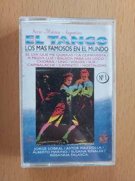 Cassette el tango los más famosos en el mundo
