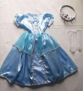 Disfraces princesas Elsa Anna Frozen Cenicienta Blanca Nieves