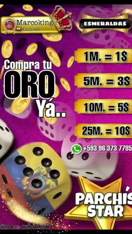 Oro Parchis Star