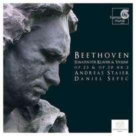 Cd- Ludwig van Beethoven:  Sonatas for piano and violin Op.23 & Op.30 no.2 - Andreas Steir.