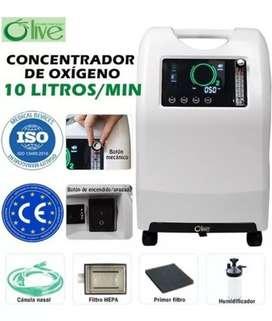 Concentrador de oxígeno olv de 10lpm