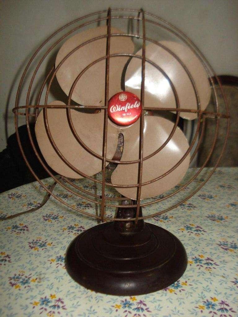 Ventilador Antiguo De Mesa Windfield Funcionando UNICO!!