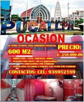 VENTA DE HOTEL OCASION